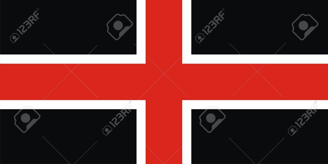 Very Big Size Durham City Flag Illustration Stock Photo Picture And