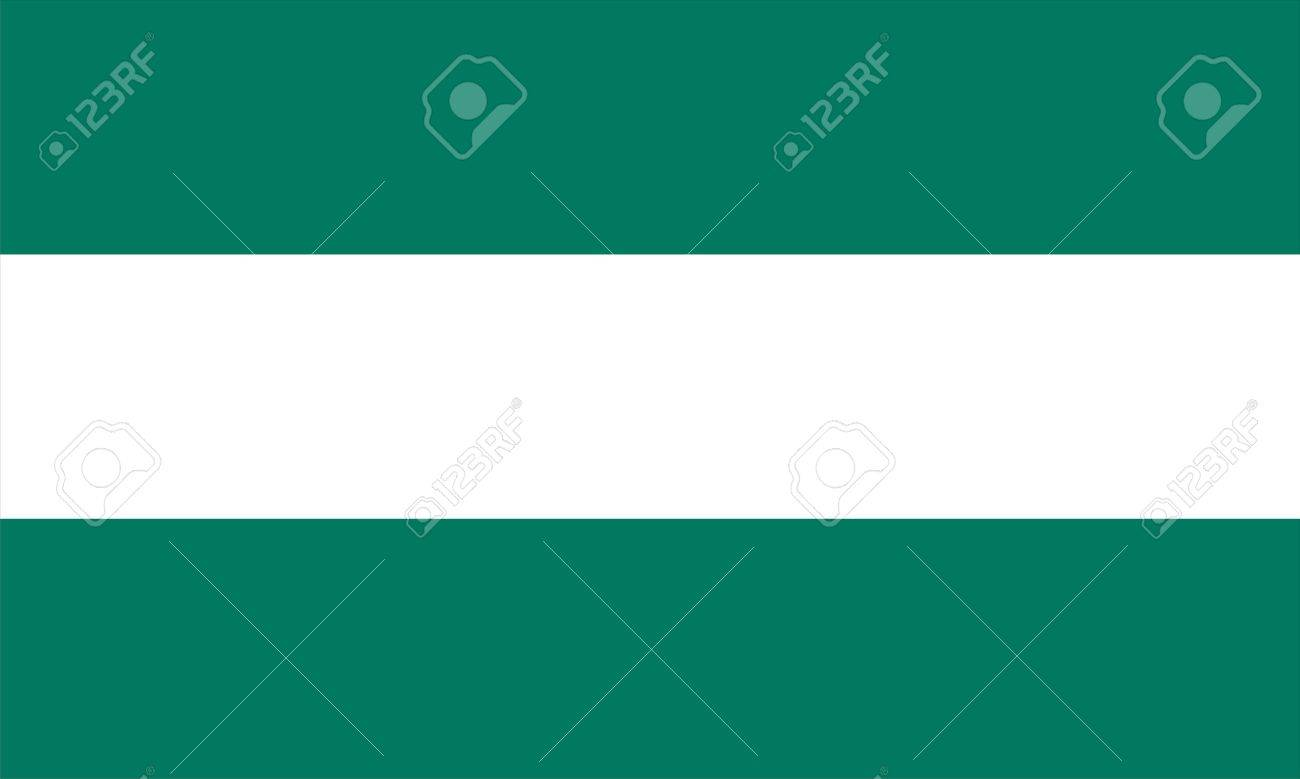 very big size andalucia spain region flag Stock Photo - 13319875