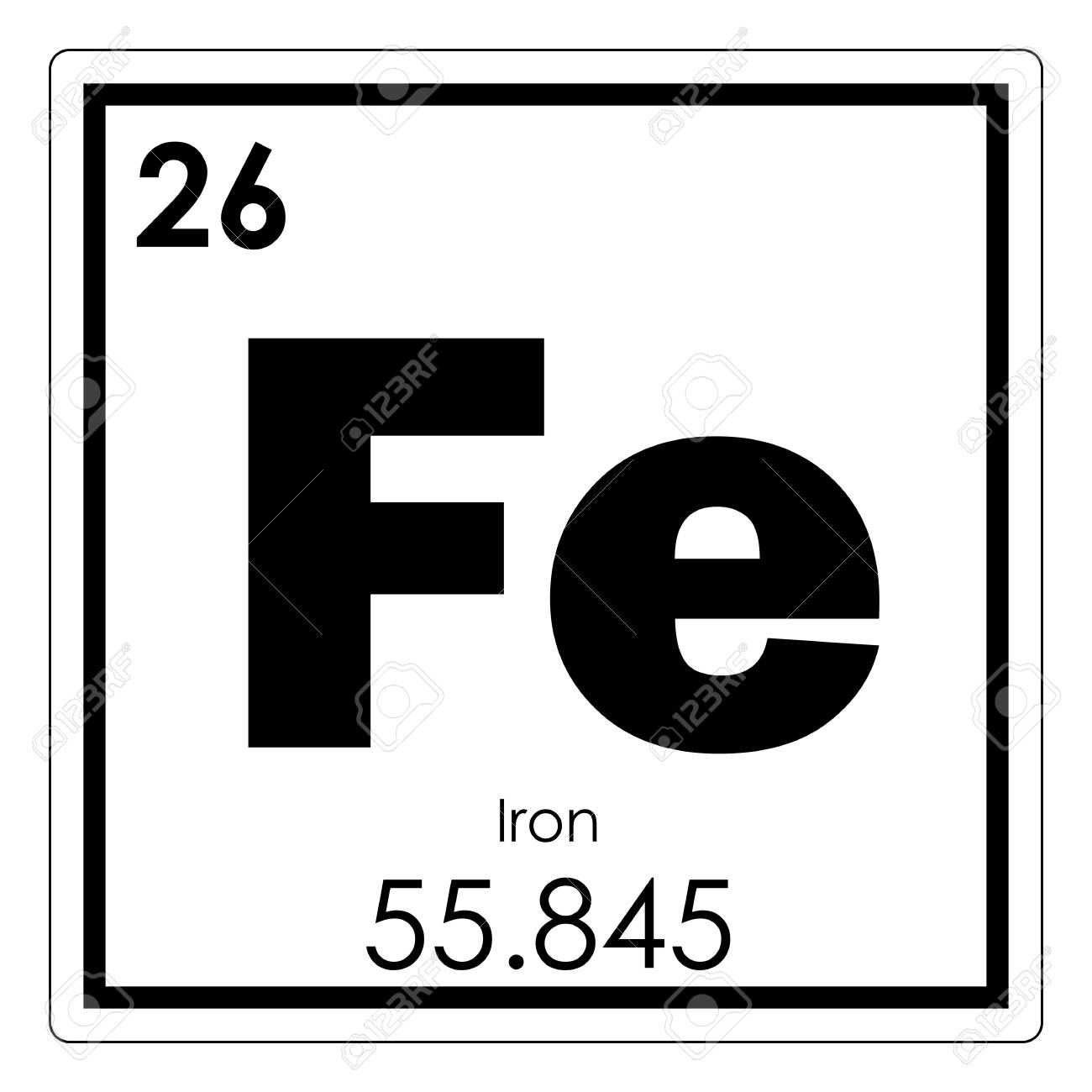 Iron chemical element periodic table science symbol stock photo iron chemical element periodic table science symbol stock photo 93554615 urtaz Images