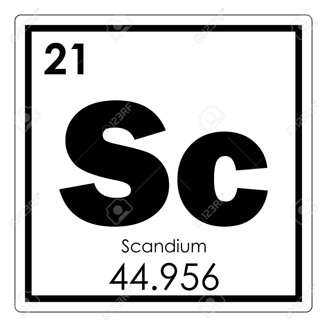 Scandium chemical element periodic table science symbol stock photo scandium chemical element periodic table science symbol stock photo 93637644 urtaz Images