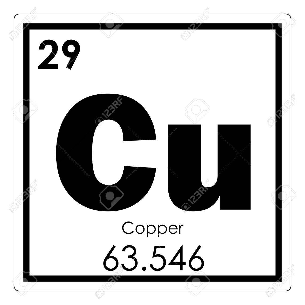 Copper chemical element periodic table science symbol stock photo copper chemical element periodic table science symbol stock photo 93684850 urtaz Gallery