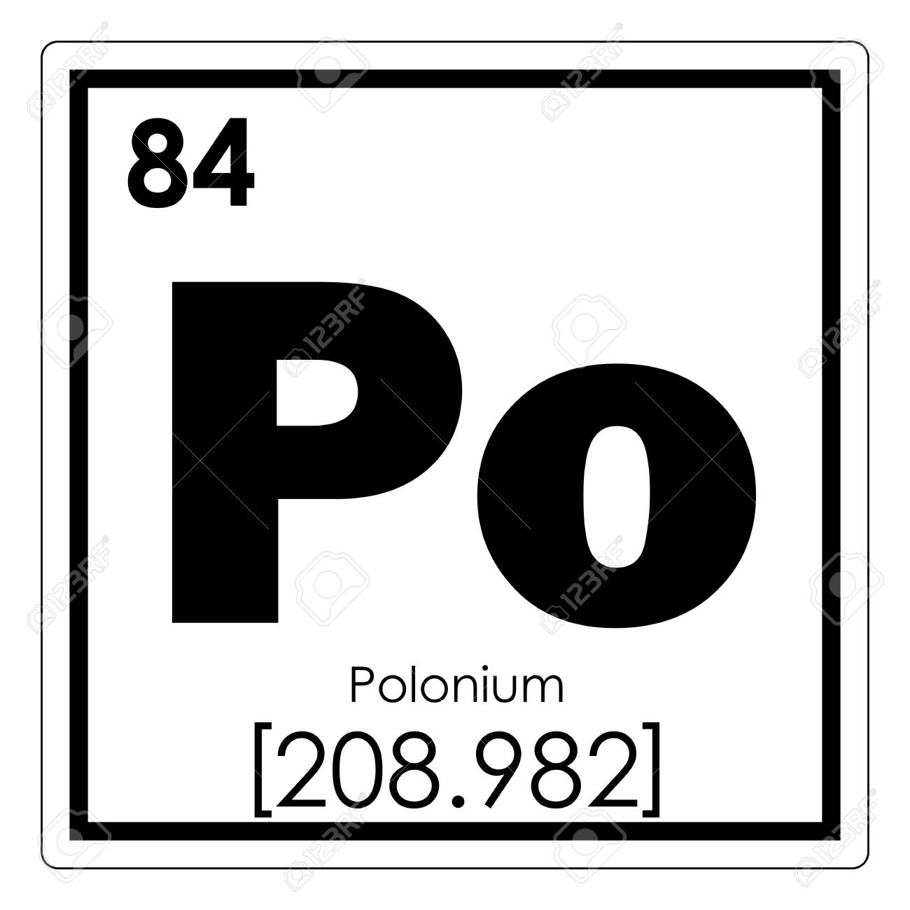 Polonium chemical element periodic table science symbol stock photo polonium chemical element periodic table science symbol stock photo 93638019 urtaz Images