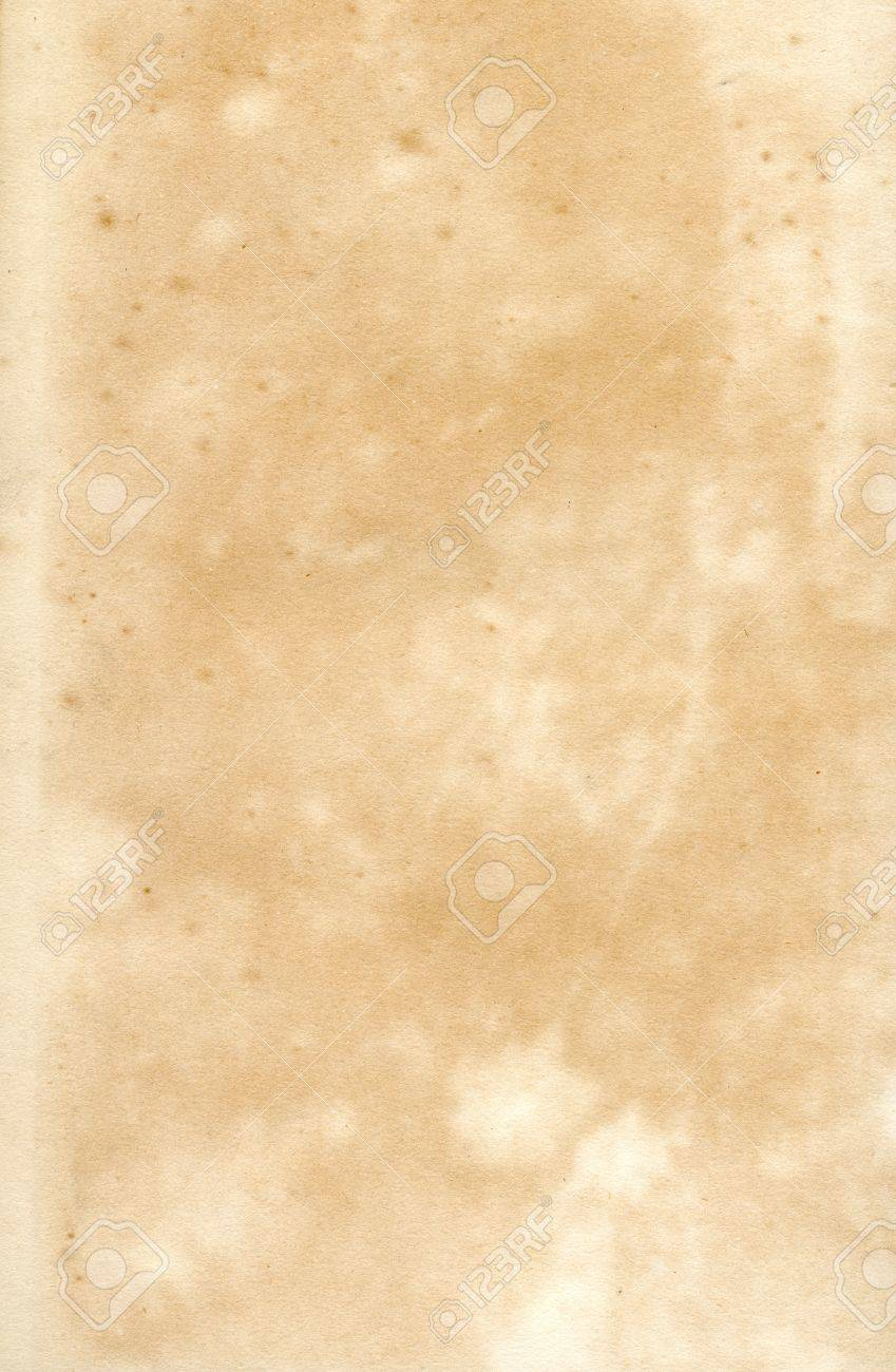 Old Vintage Early19th Century Textured Paper Document Background Stock Photo