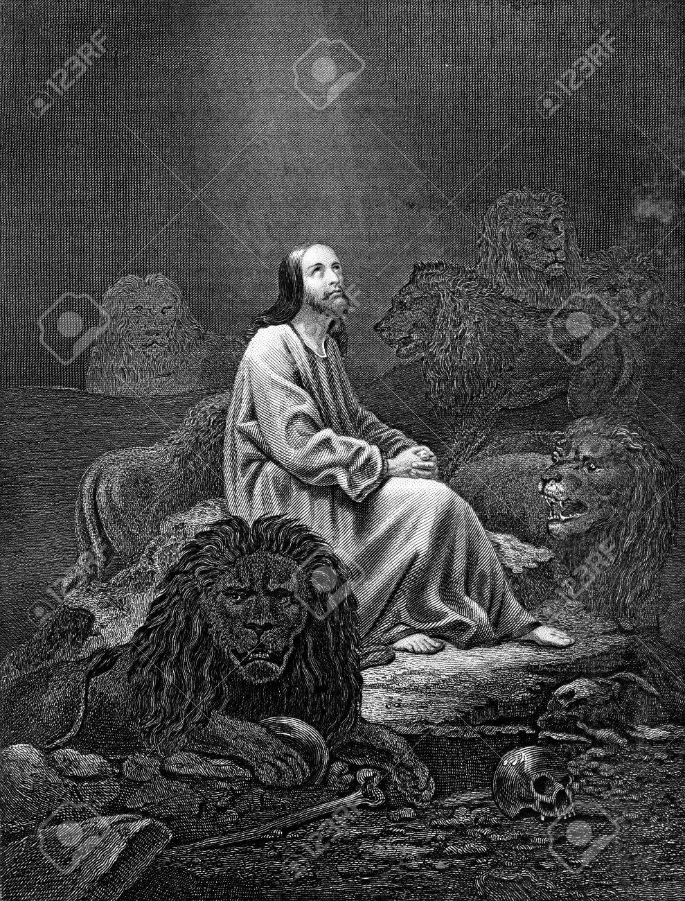 Perfecto Biblia Colorear Daniel Y La Guarida De Los Leones Regalo ...