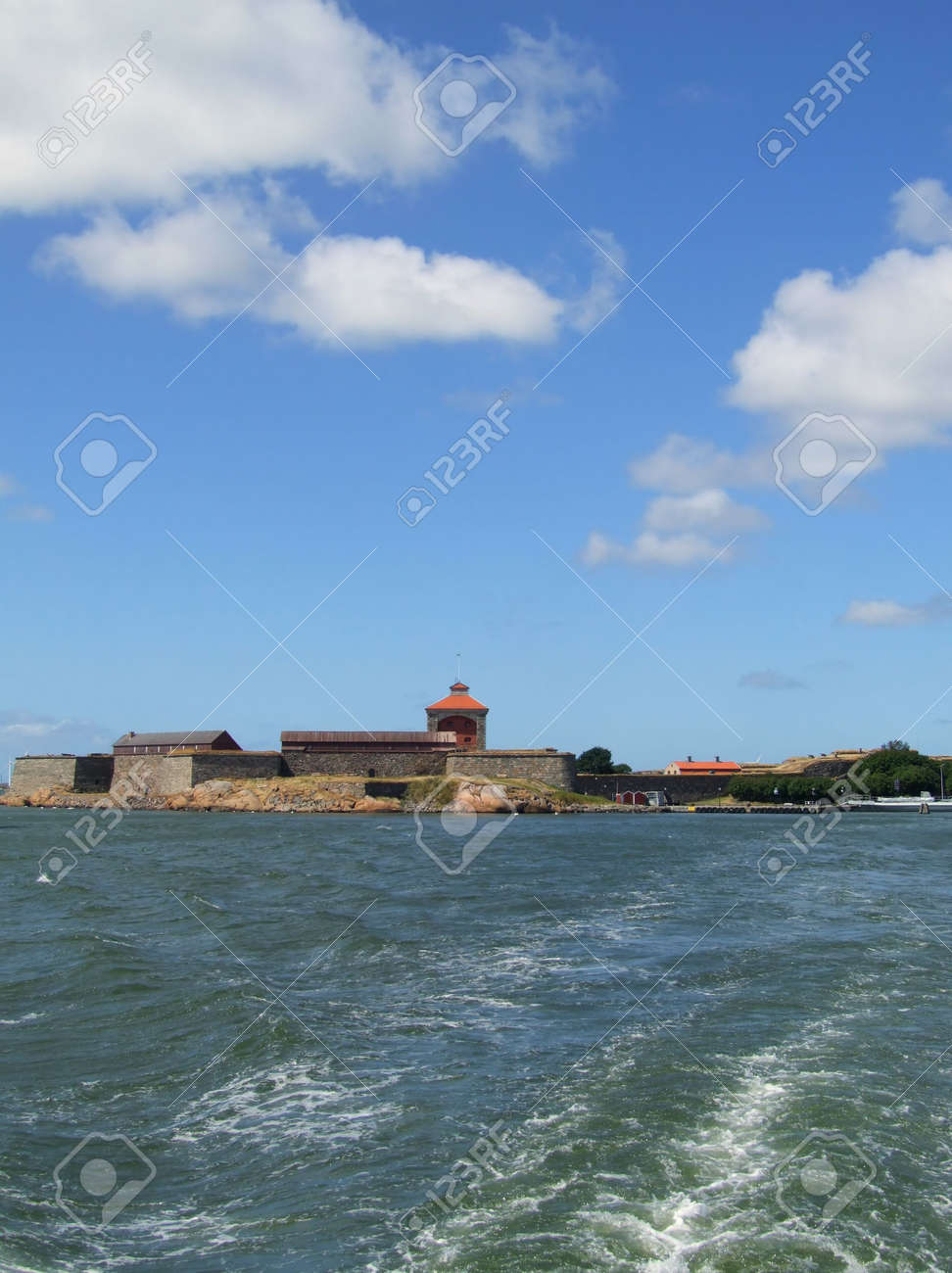 a view of the Elfsborg fortress at Gothenburg harbour in Sweden Stock Photo - 3602788