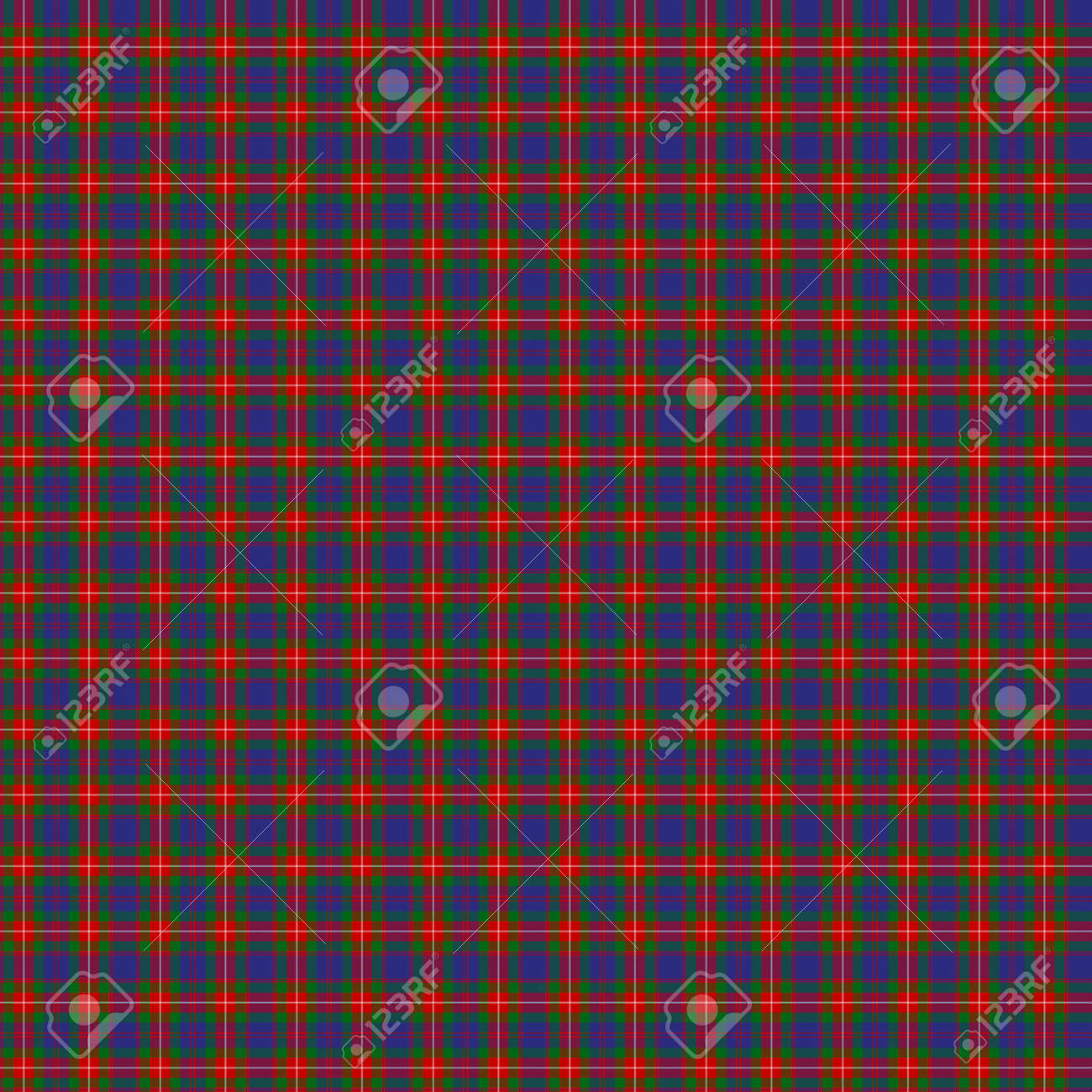 A seamless patterned tile of the clan Fraser of Lovat tartan