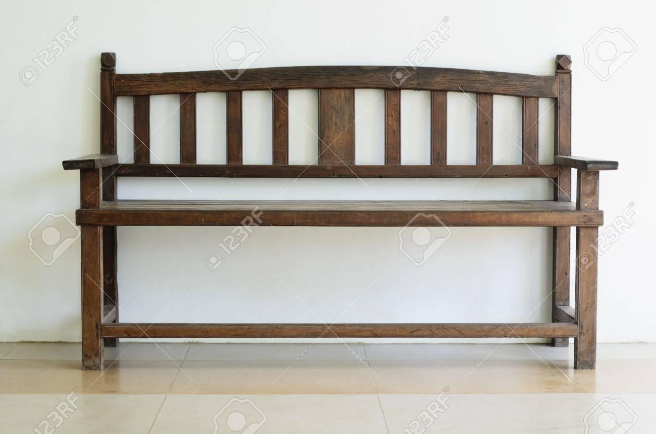Cool Old Wooden Bench Shot Against Plain Wall Uwap Interior Chair Design Uwaporg