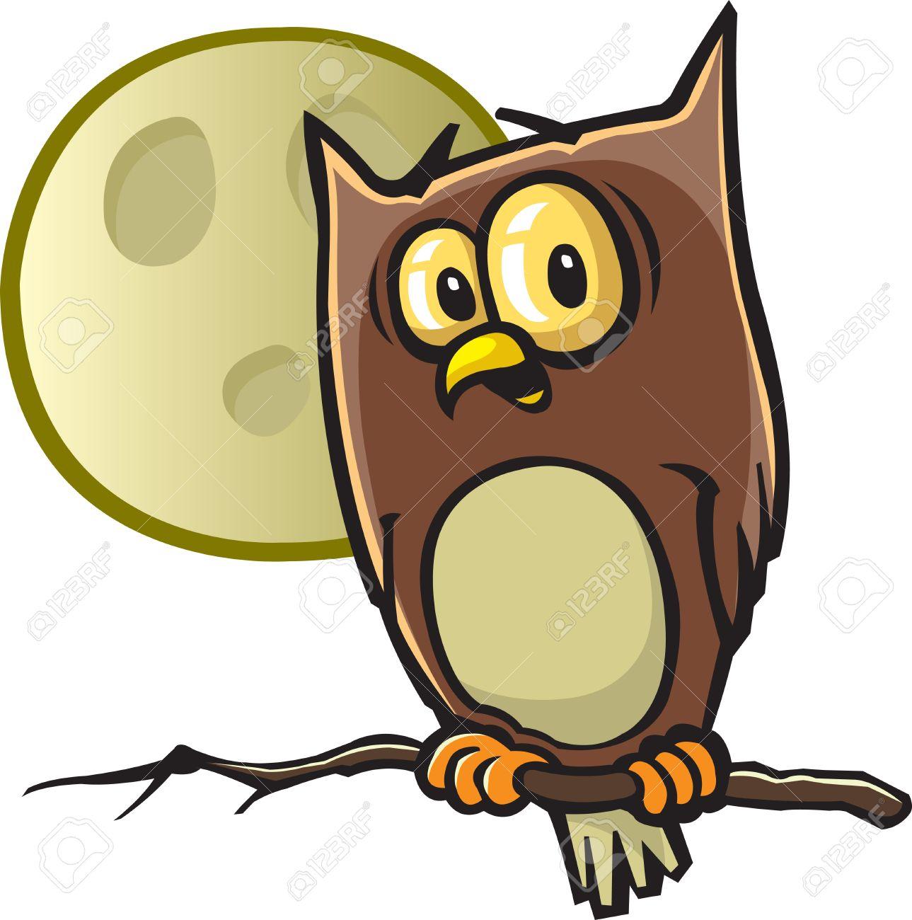 A cartoon Halloween Owl Vector and high resolution jpeg files..