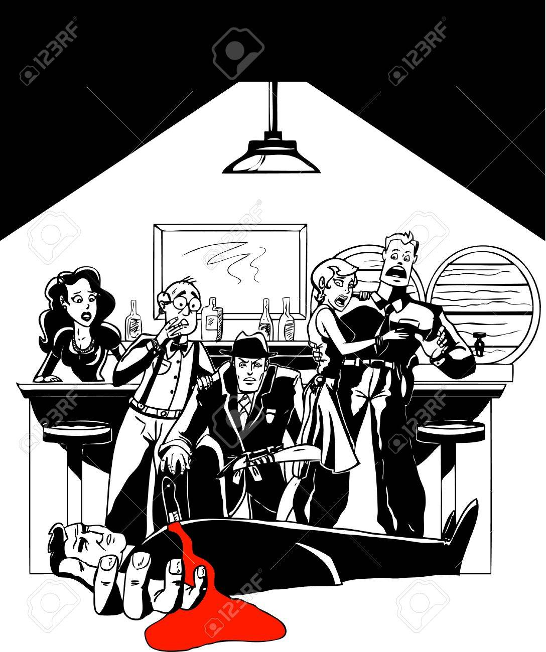 Murder Mystery at the Speakeasy - 20294269