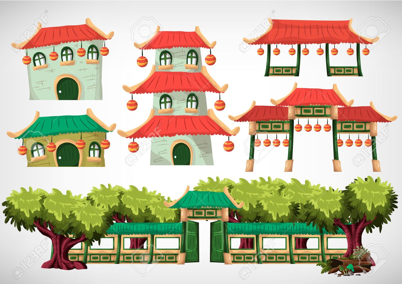 china se opone casa para el juego y la animacin diseo de juego activo