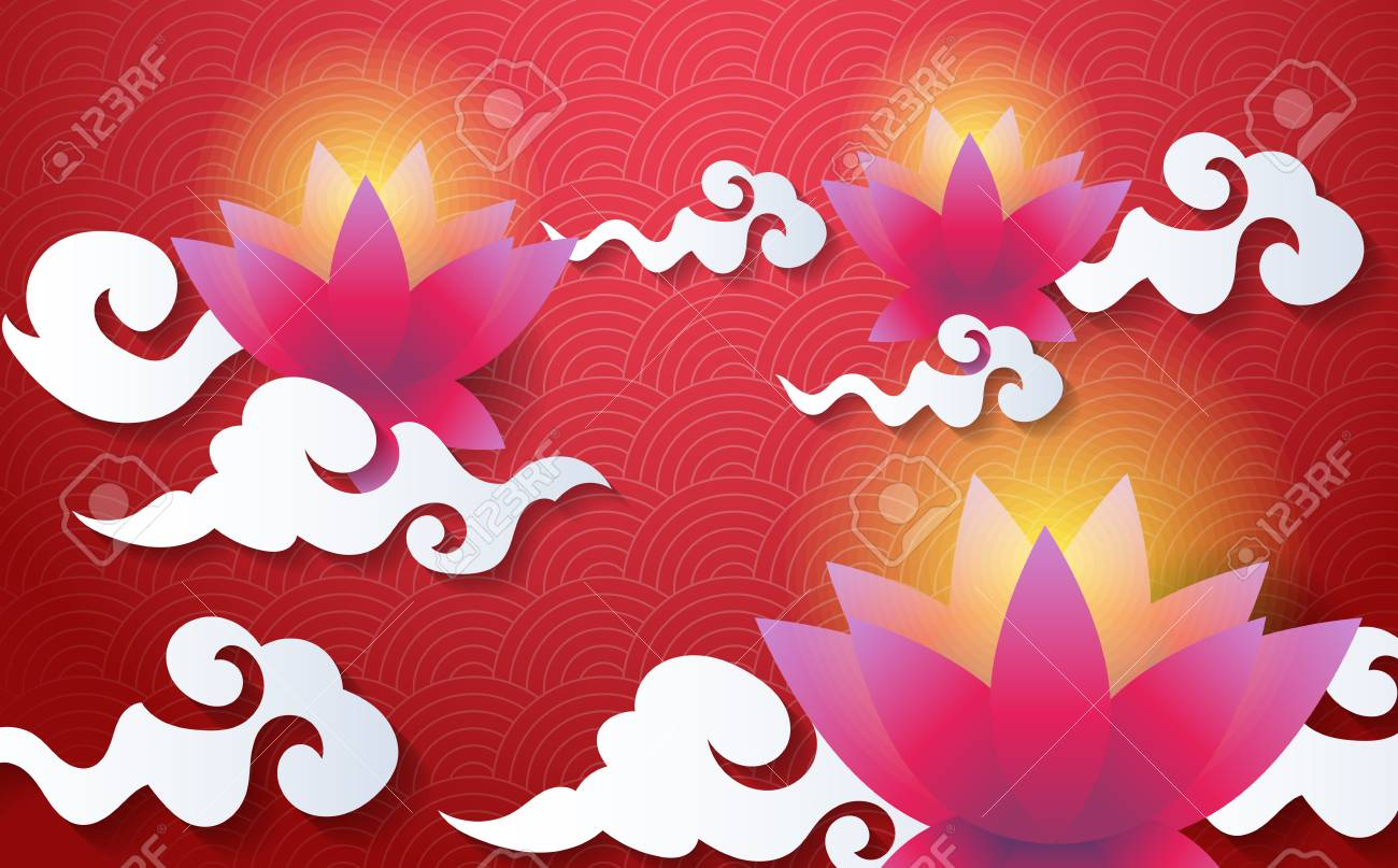 mid autumn festival vector background for banner poster royalty