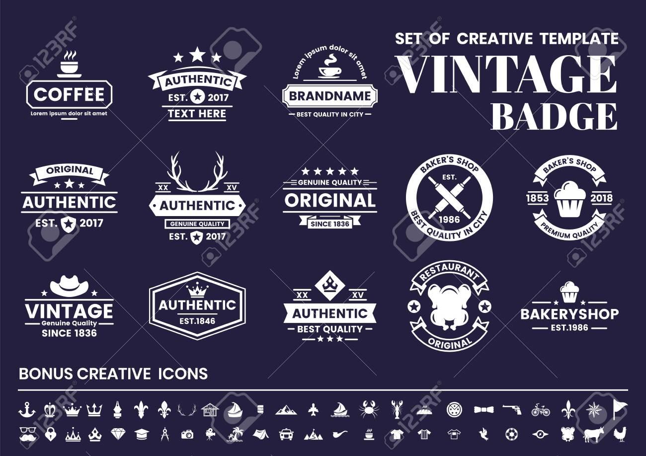 Vintage Retro Vector for banner, poster, flyer - 133204206