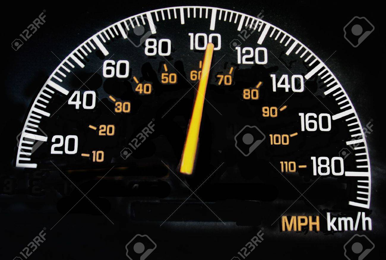 100 Kph To Mph >> Speedometer Reading 100 Kph