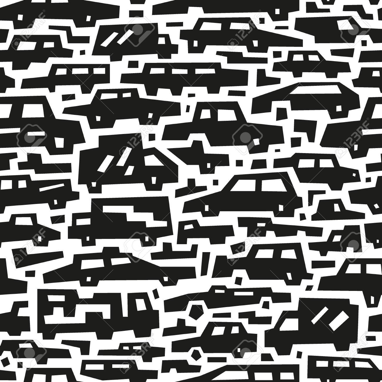 cars motion - seamless background Stock Vector - 20277993
