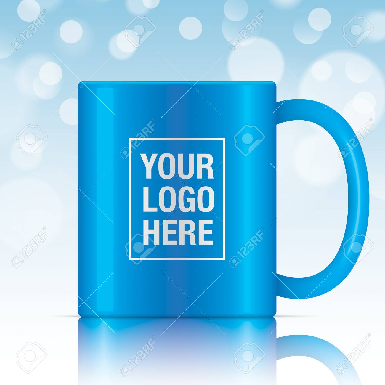 The Best Background Mug Template Design