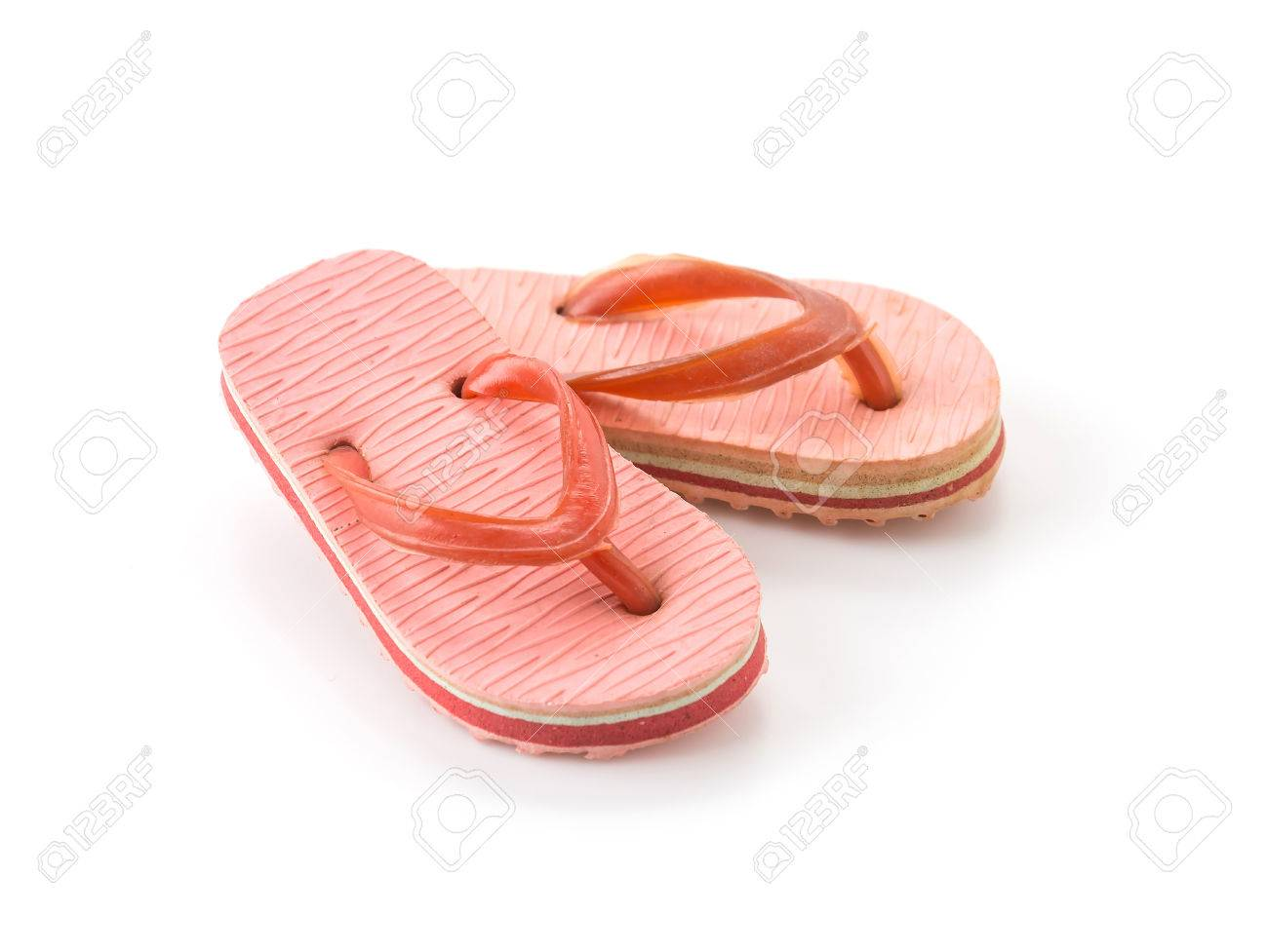 c30a555afee9c mini sandal on white background Stock Photo - 45459624