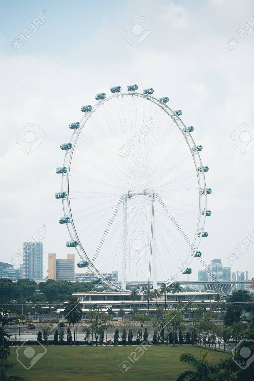 Singapore Flyer La Rueda De La Fortuna Mas Grande En El Mundo