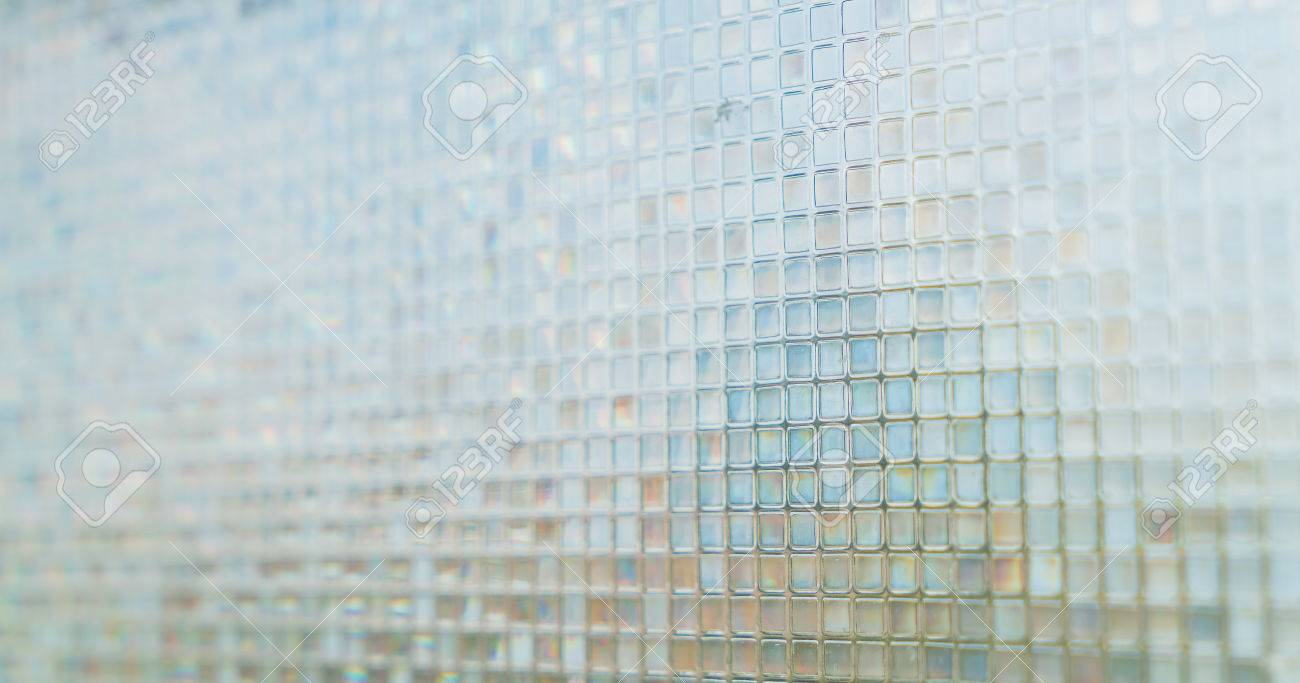 Schon Nahtlose Blauen Fliesen Textur Hintergrund Glas, Fenster, Küche Oder Bad  Konzept Standard