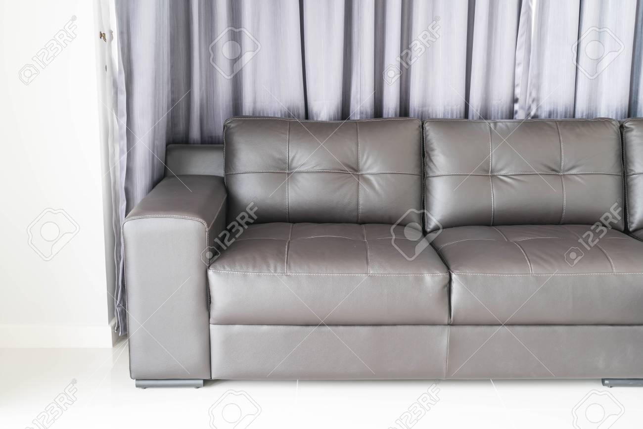 Banque Du0027images   Décoration Intérieure Canapé Moderne Dans Le Salon