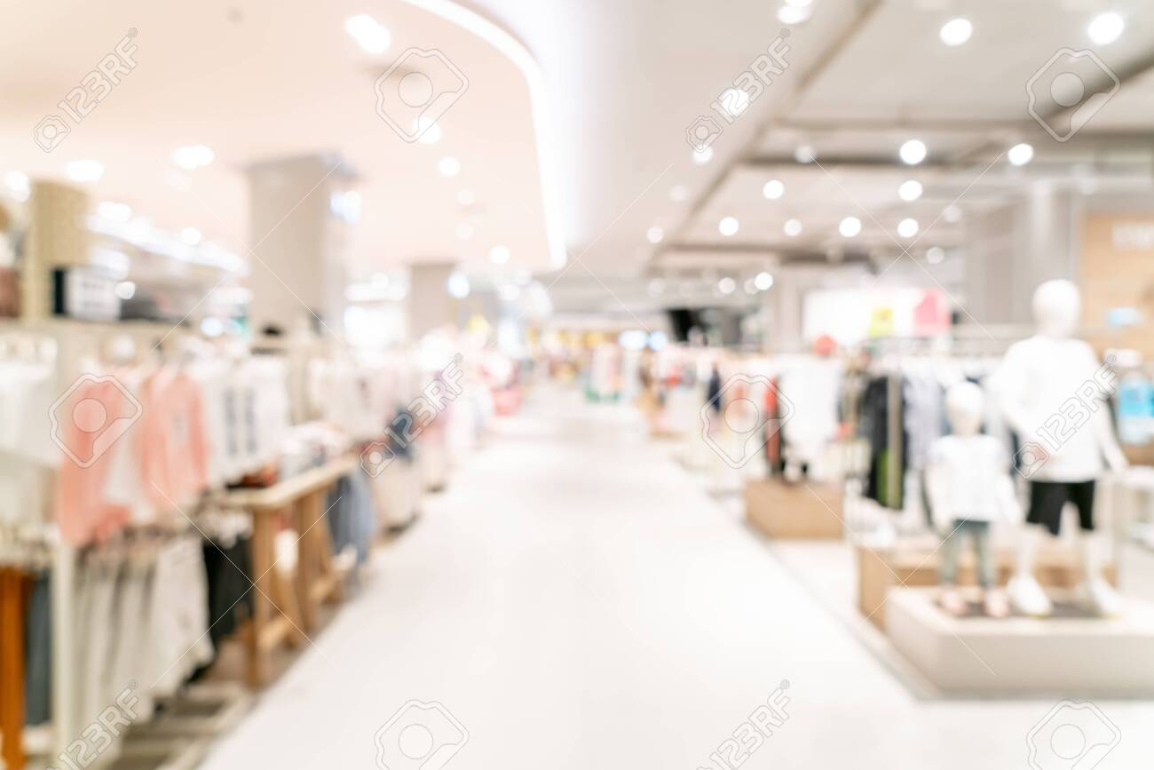 abstract blur shopping mall for background - 127805980