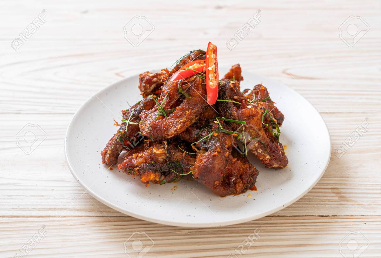 Stir Fried Catfish with Chili Paste - Asian food style - 149948371
