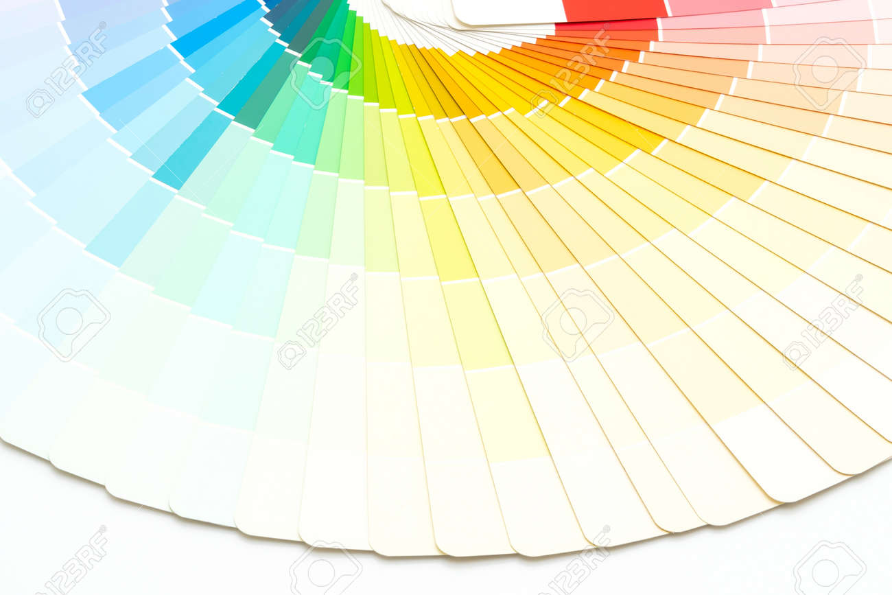 sample colors catalog or color swatches book - 154362000