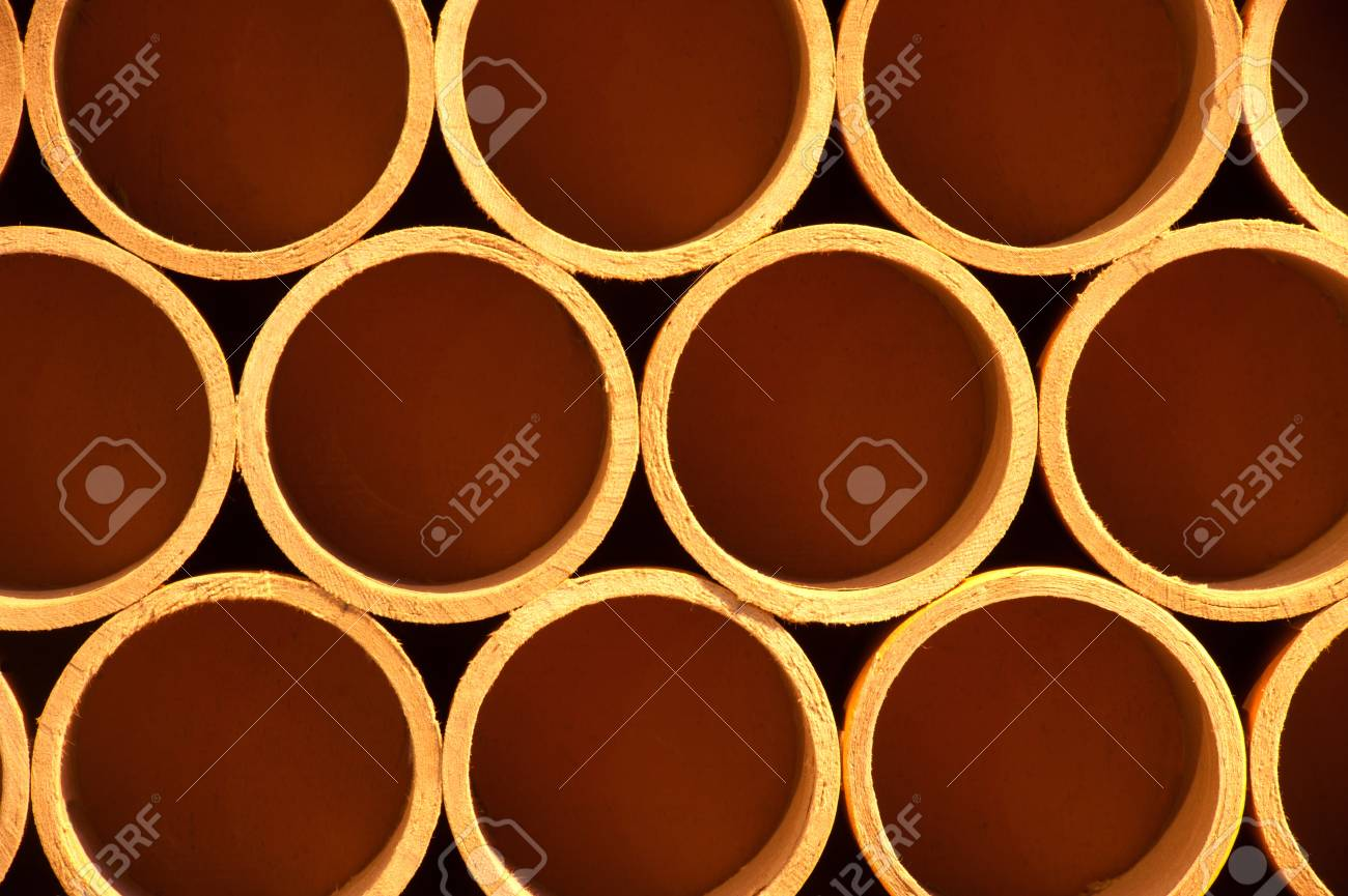 Cross section of paper rolls Stock Photo - 16501128