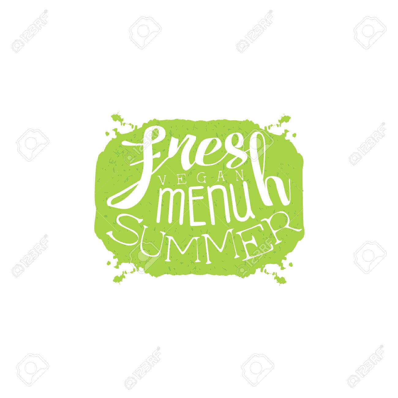 fresh summer menu calligraphic cafe board vegetarian cafe new menu promotion banner cool calligraphic buy fresh cool summer