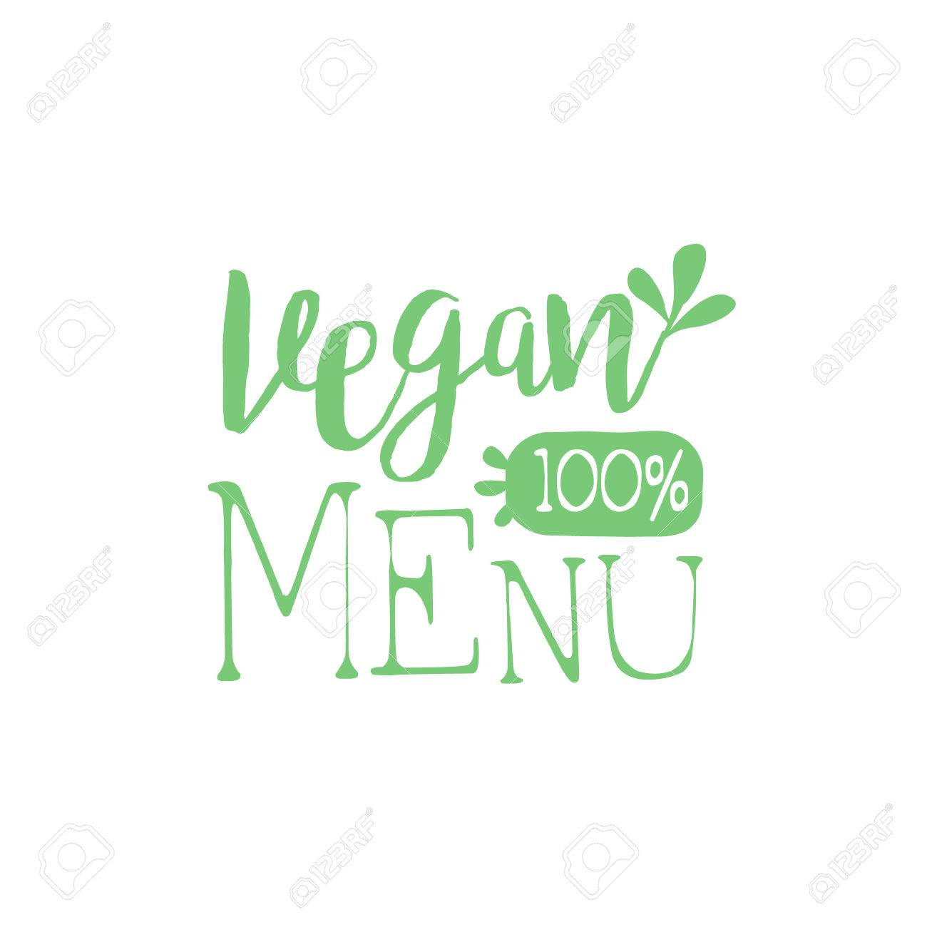Vegan Calligraphic Cafe Board Vegetarian Cafe New Menu Promotion Royalty Free Cliparts Vectors And Stock Illustration Image 58072457