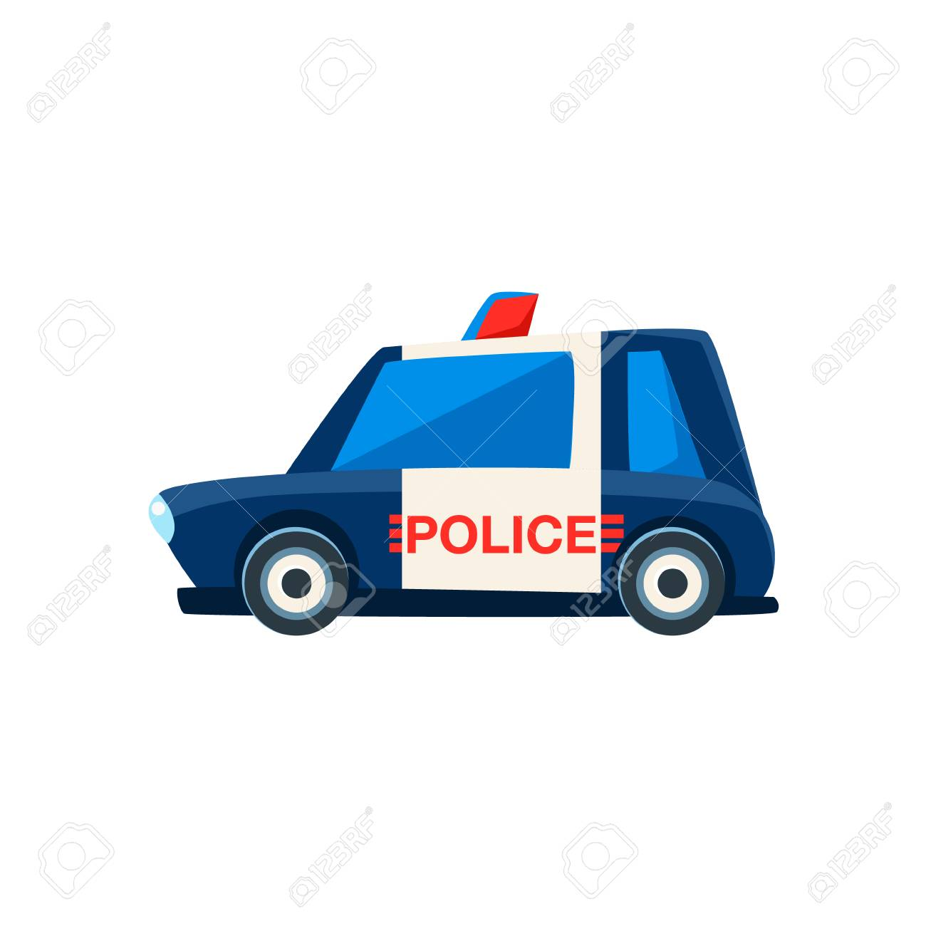 Noir 4r3aljq5 Mignon Et Blancmodèle Voiture Police Icône De Jouet txrdCshQ