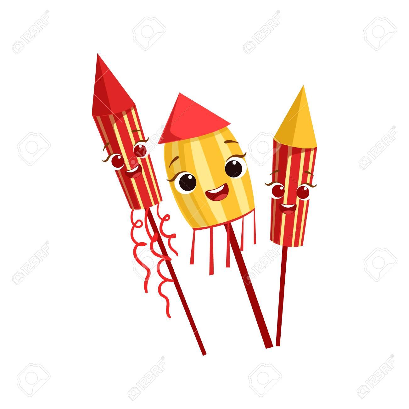 Fuegos Artificiales De Los Ninos La Fiesta De Cumpleanos Feliz