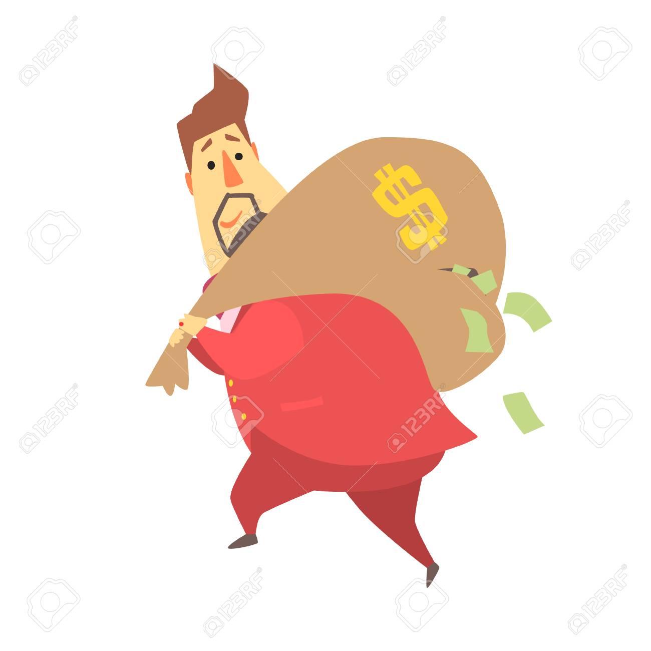 Black Thief Stealing Money Cartoon Vector Clipart - FriendlyStock | Cartoon  boy, Cartoons vector, Cartoon
