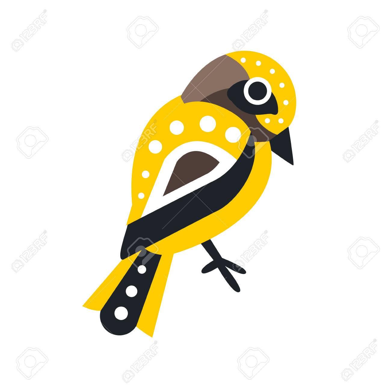 Petit Vecteur De Personnage De Dessin Anime Oiseau Colore Illustration Isole Sur Fond Blanc Clip Art Libres De Droits Vecteurs Et Illustration Image 78612597