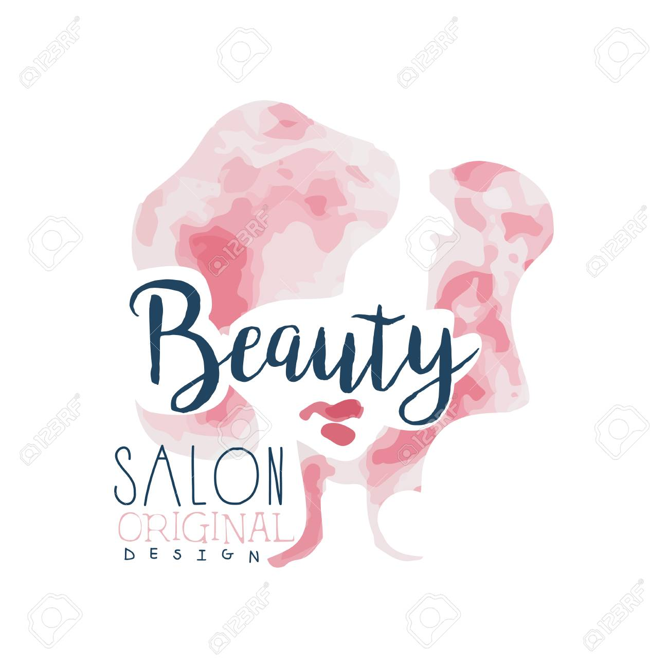 Beauty Salon Original Design Label For Hair Or Beauty Studio Royalty Free Cliparts Vectors And Stock Illustration Image 88394840