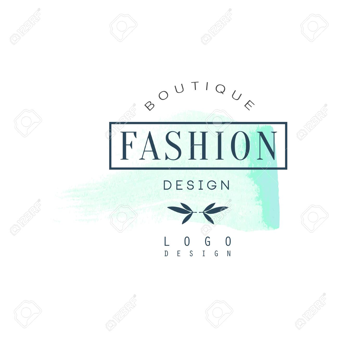 Fashion Boutique Logo Design Badge For Clothes Shop Beauty Royalty Free Cliparts Vectors And Stock Illustration Image 89188701