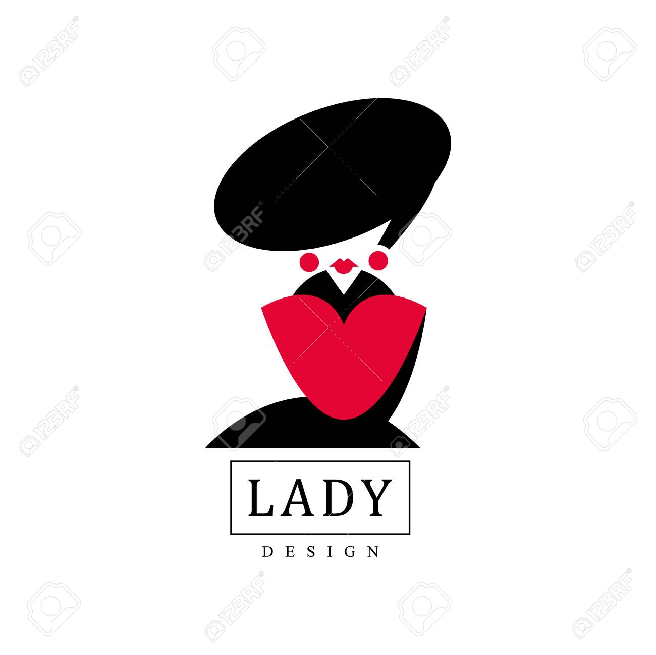 Lady Design Logo Template Fashion Beauty Salon Studio Or Boutique Royalty Free Cliparts Vectors And Stock Illustration Image 91685407
