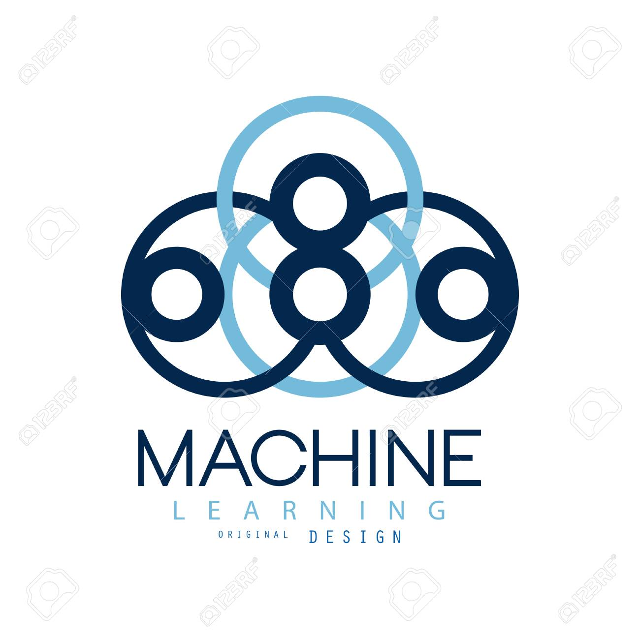 Symbol Of Machine Learning Computers And Artificial Intelligence