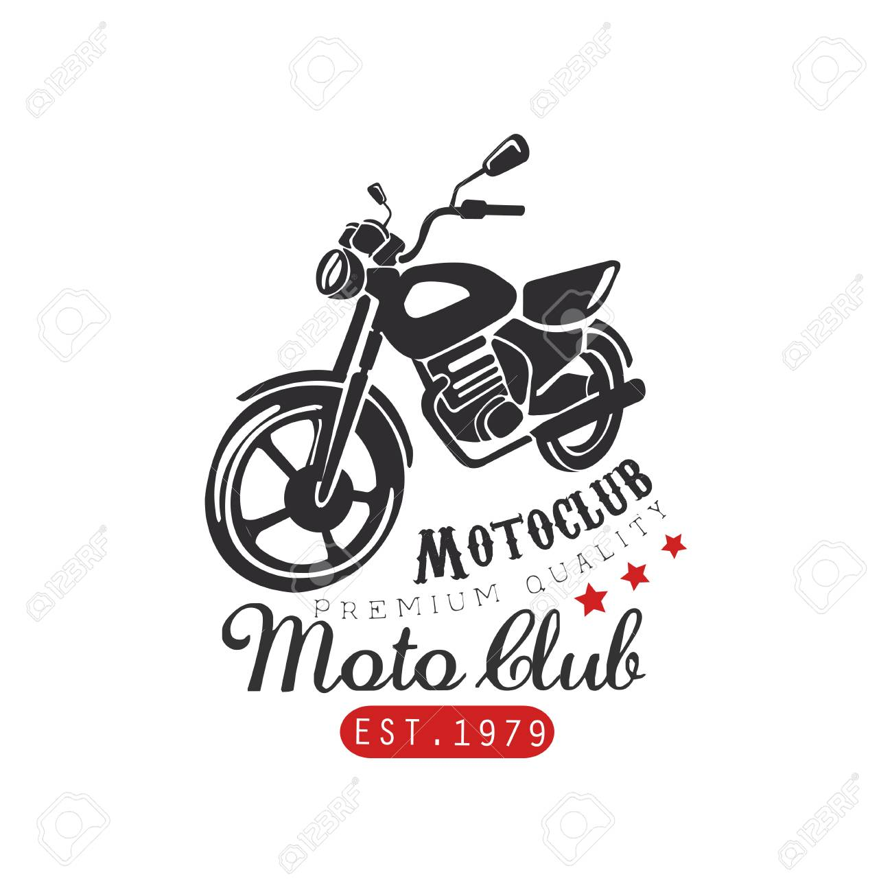 Motor Club Logo Premium Quality 1979 Design Element For Motor