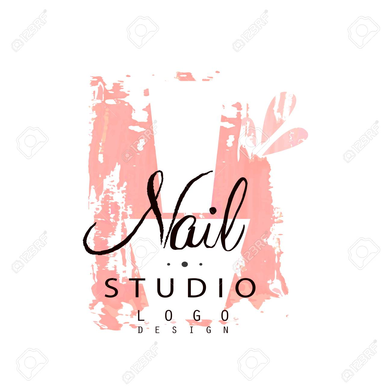 Nail Studio Design Template For Nail Bar Manicure Saloon