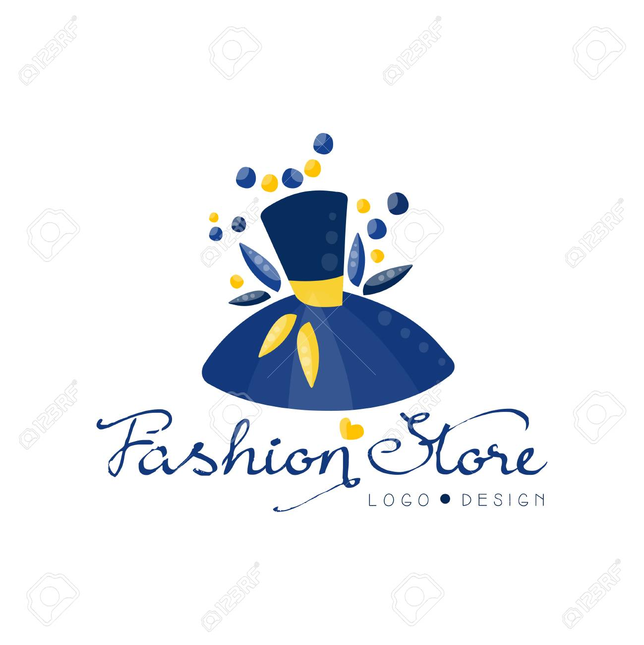 Fashion Store Logo Design Template Clothes Shop Beauty Salon Royalty Free Cliparts Vectors And Stock Illustration Image 115657821