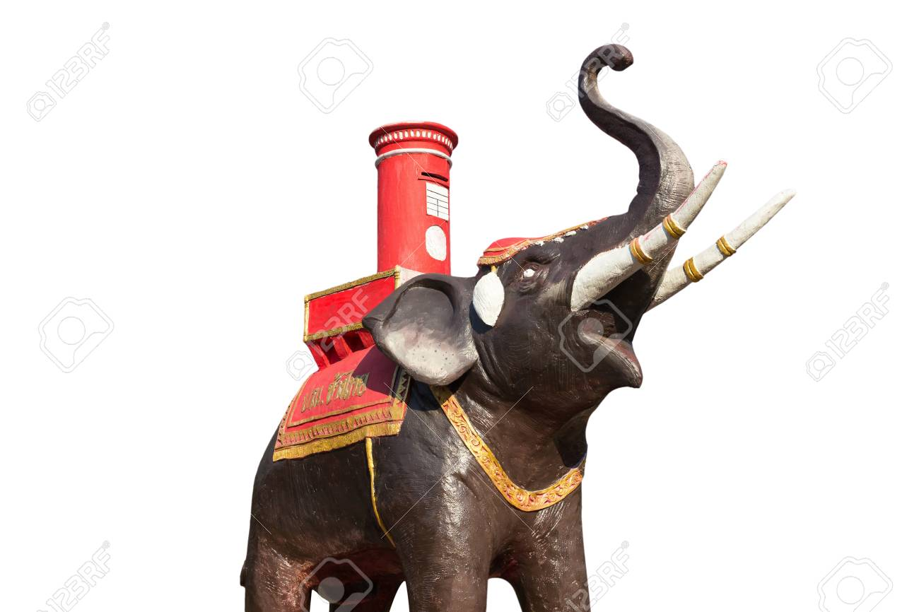 Elephant Statue beautiful in Thailand Stock Photo - 18963417