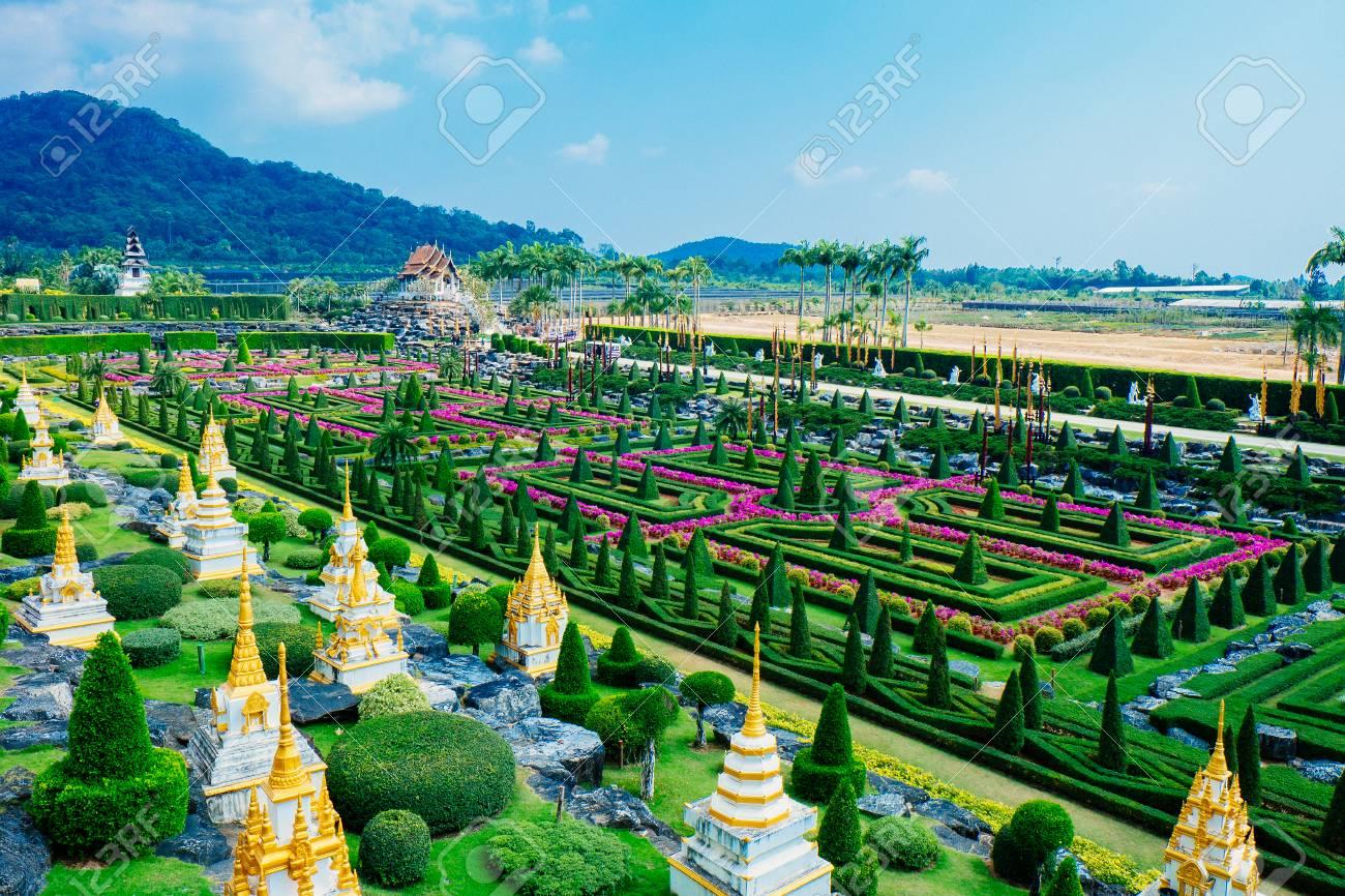 Nong Nooch Tropical Botanical Garden is a 500-acre botanical garden and tourist attraction at