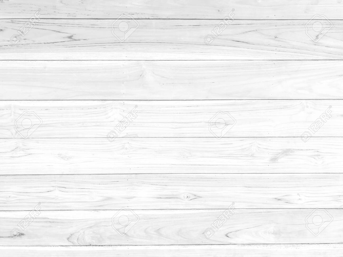 White horizontal wooden pattern textured background for decorative or work texture design. - 121187922