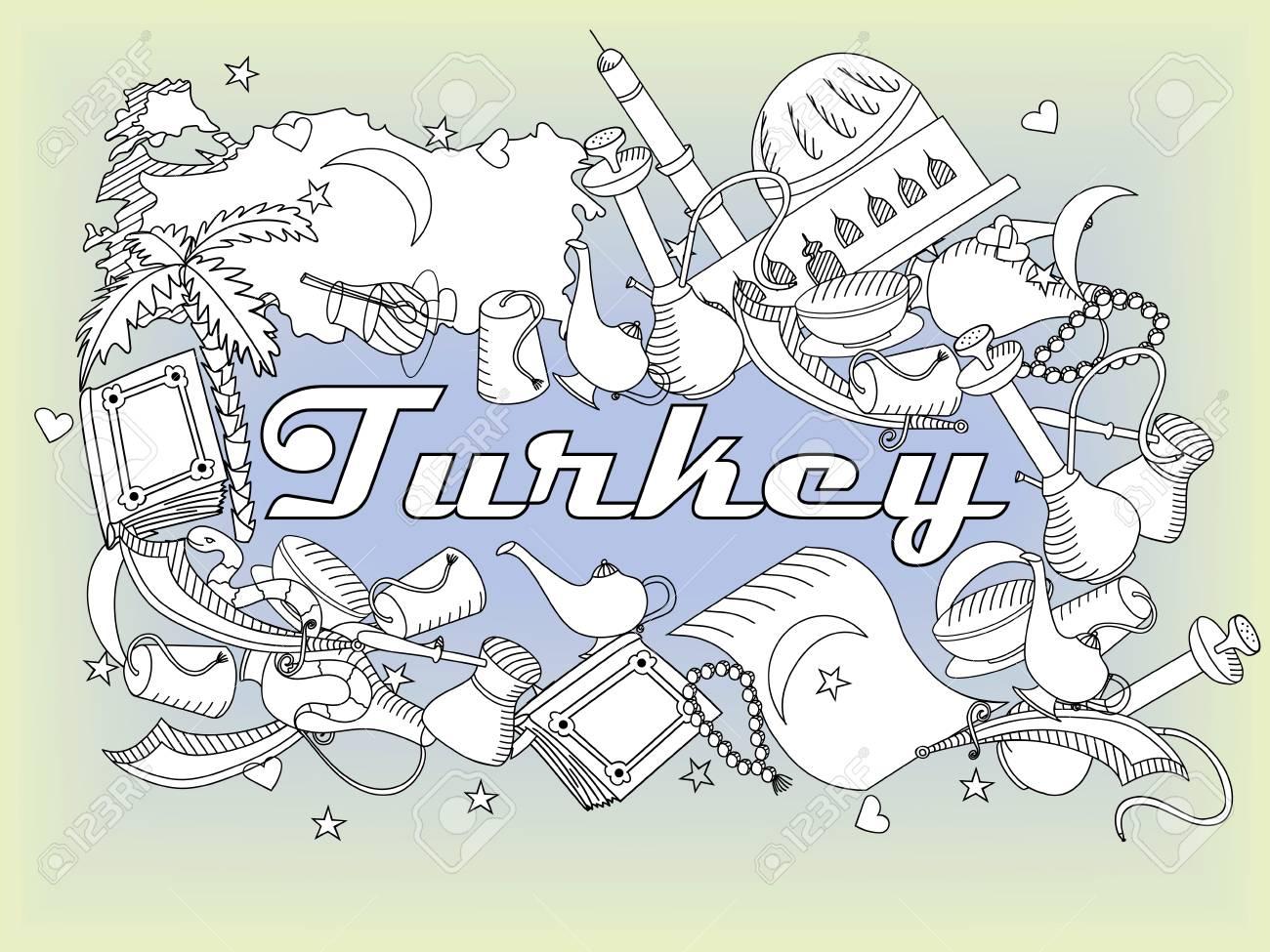 Wunderbar Druckbare Türkei Malvorlagen Fotos - Druckbare Malvorlagen ...