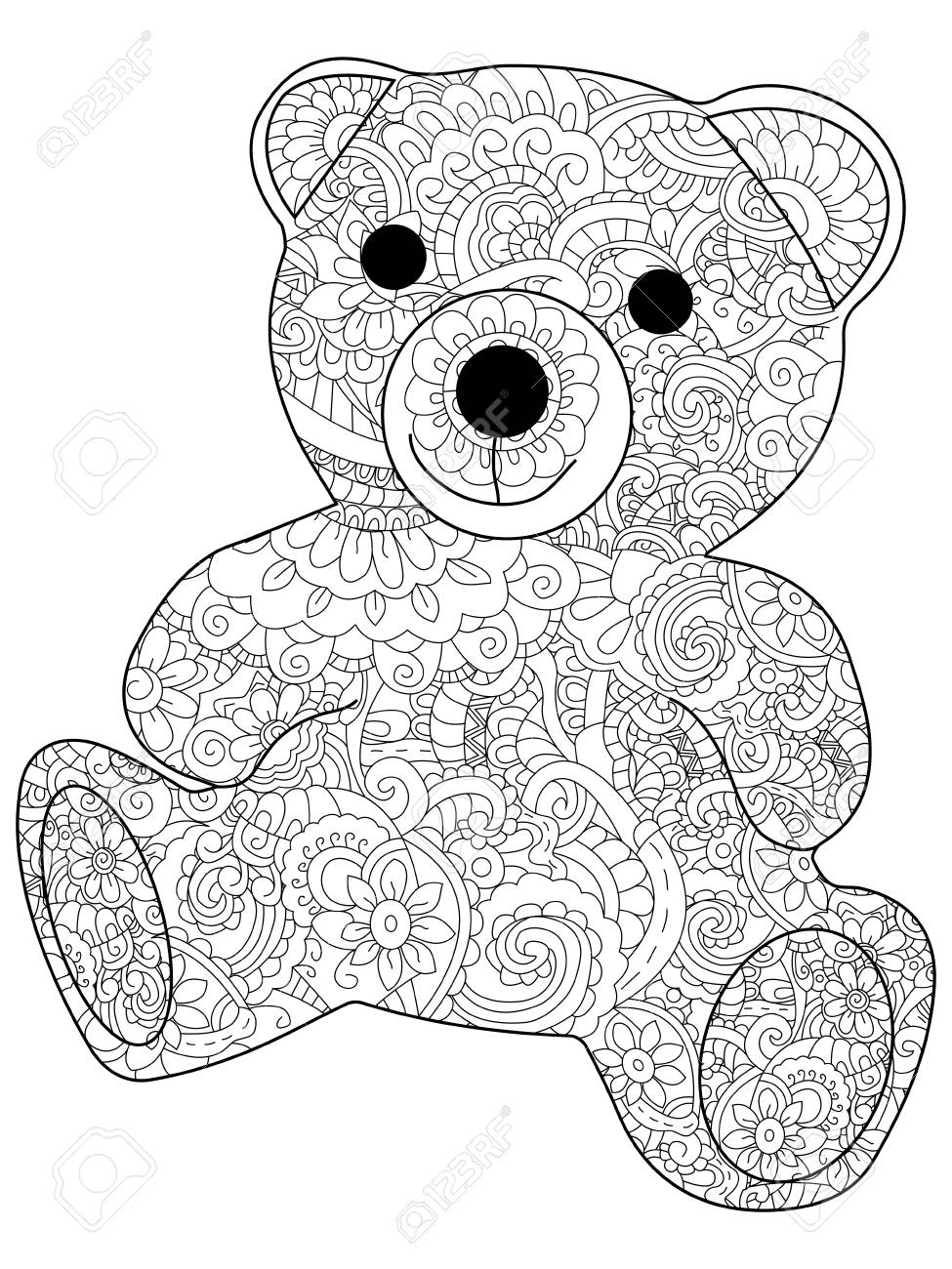 Wunderbar Teddybär Färbung Blatt Ideen - Malvorlagen-Ideen ...