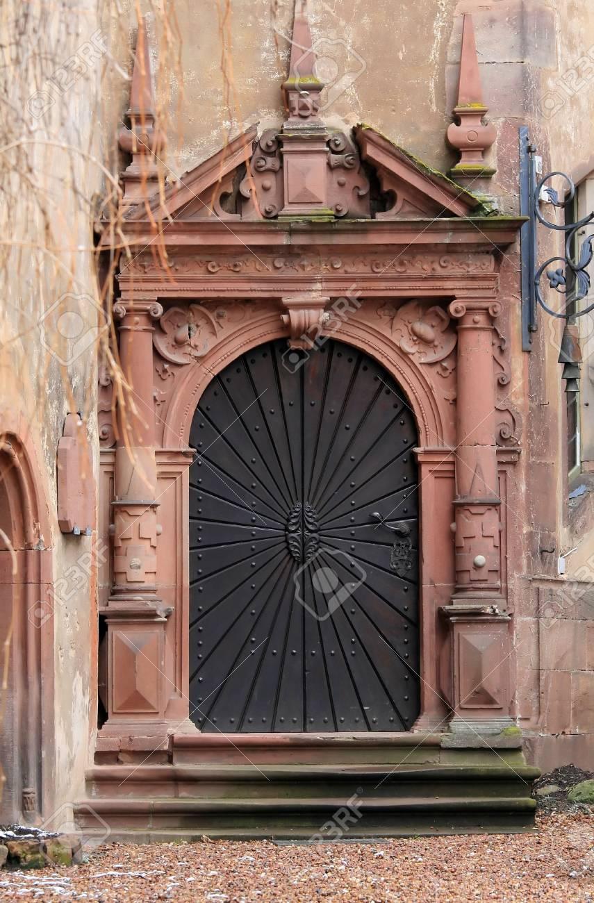 door in castle Stock Photo - 2813759