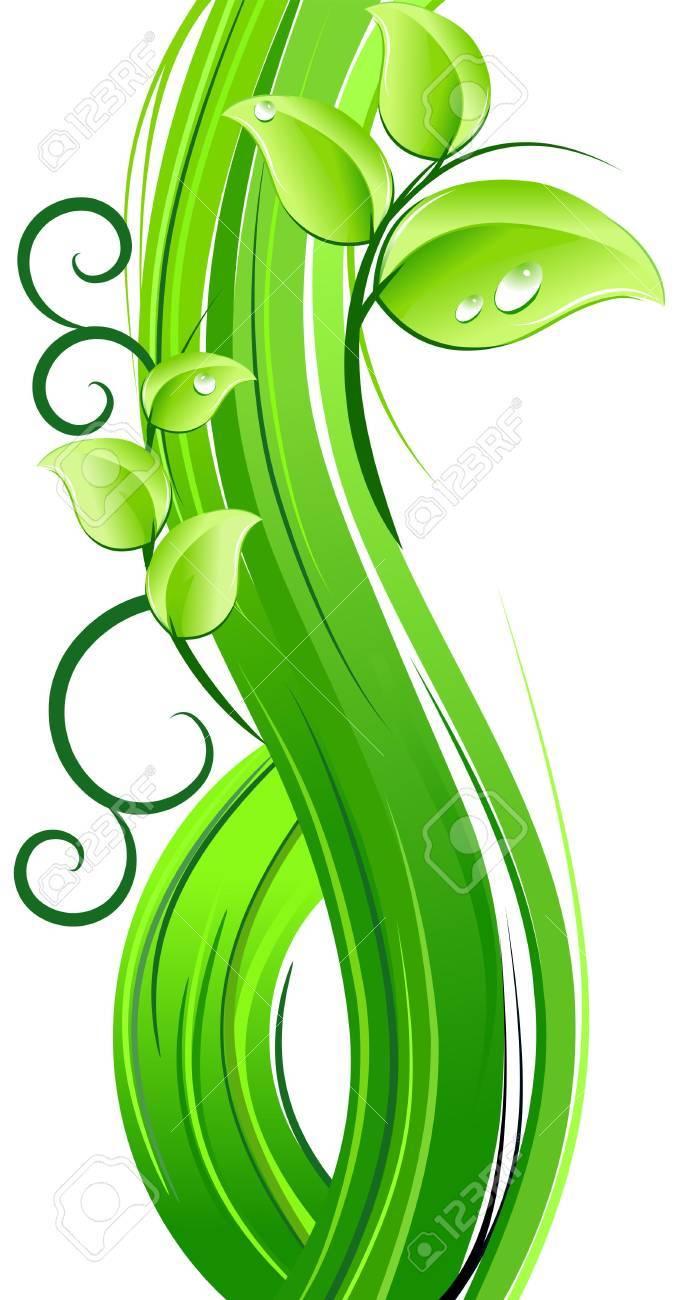 Nature fresh design Stock Vector - 4777993