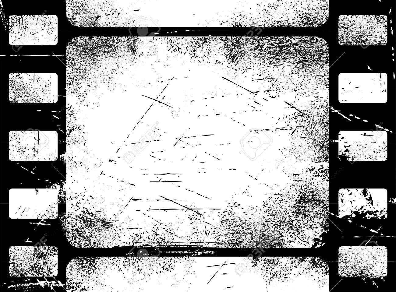 Old filmstrip background Stock Vector - 7091862