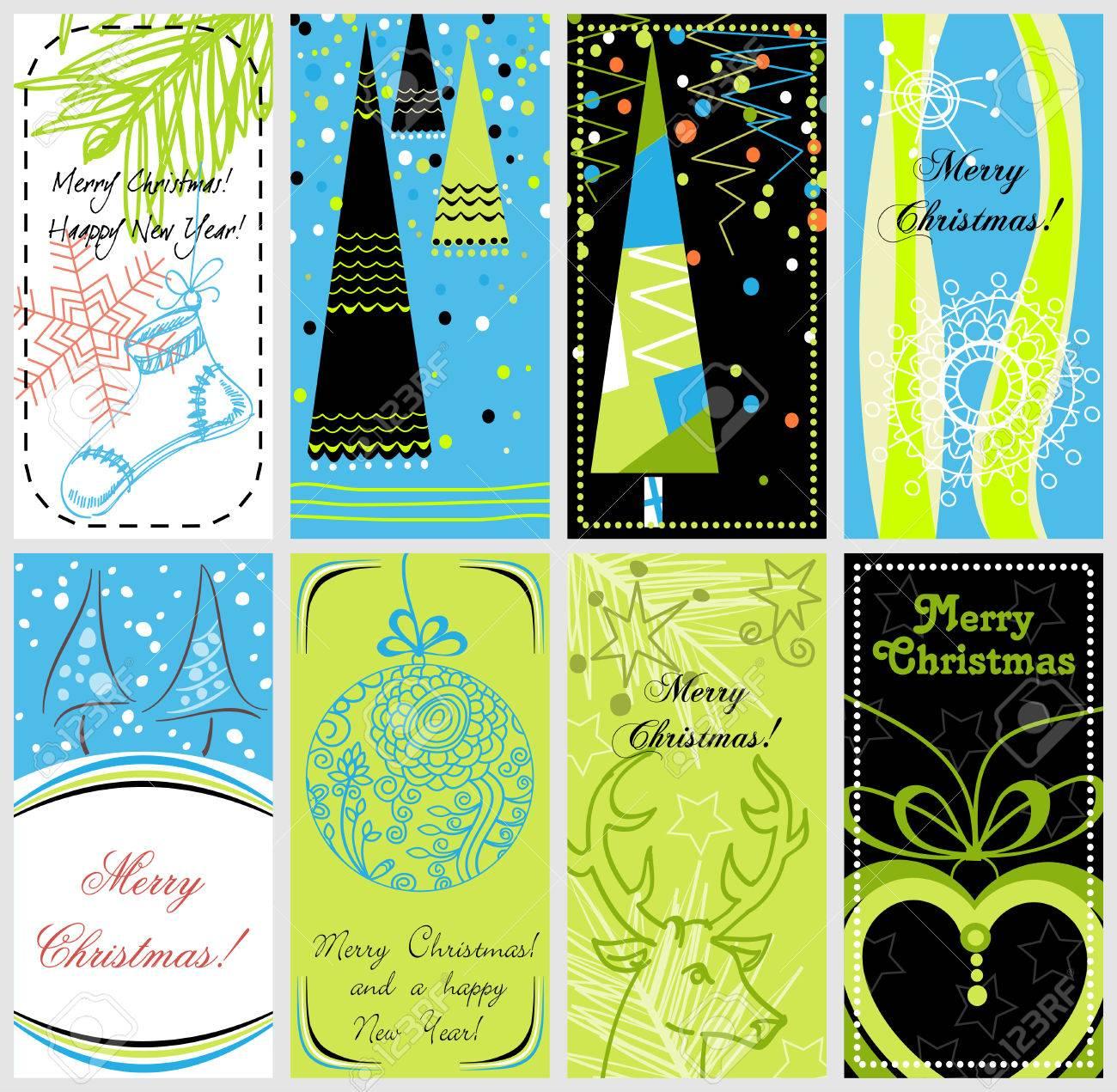 Stylish Christmas banners Stock Vector - 8337489