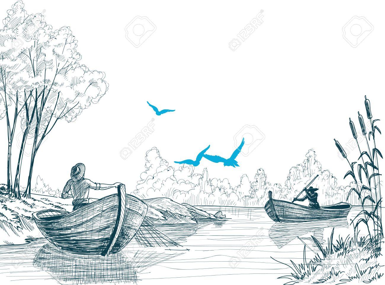скетчи о рыбалке